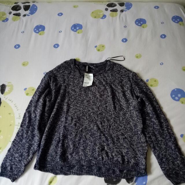 H&M Knitwear Biru