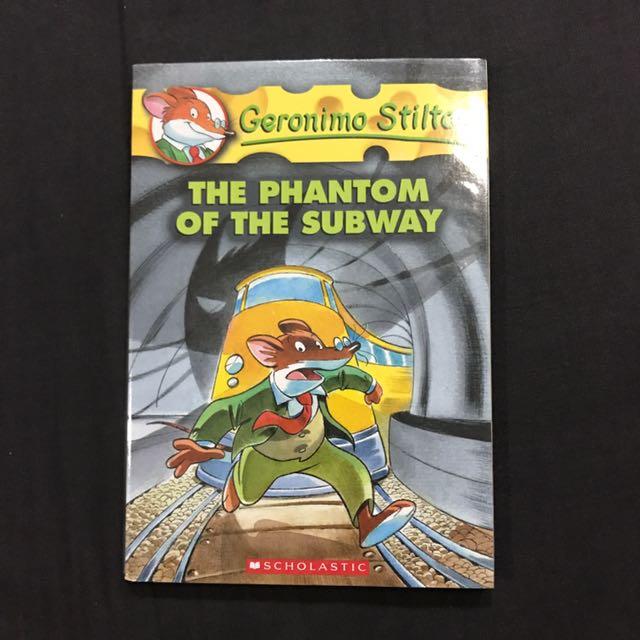 Import Children Book: Geronimo Stilton