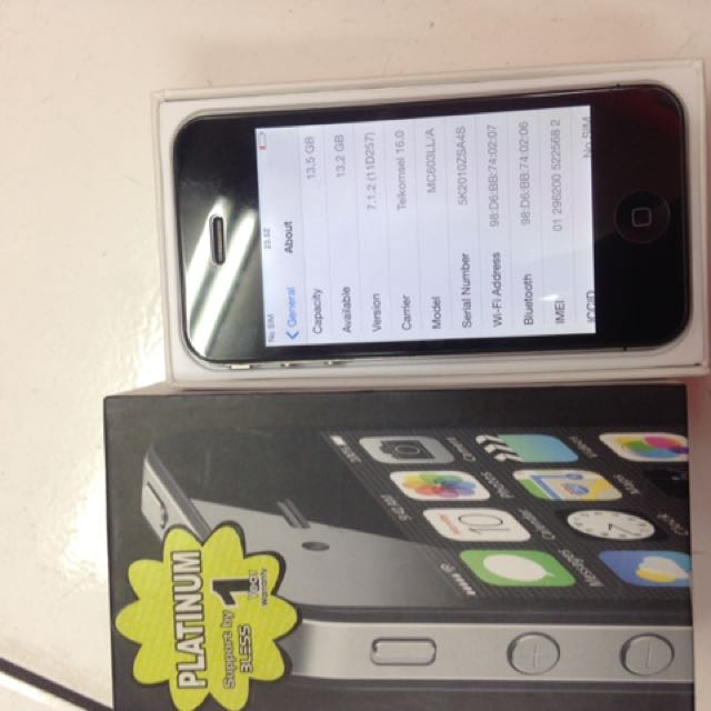 Iphone 4G 16giga Mulus