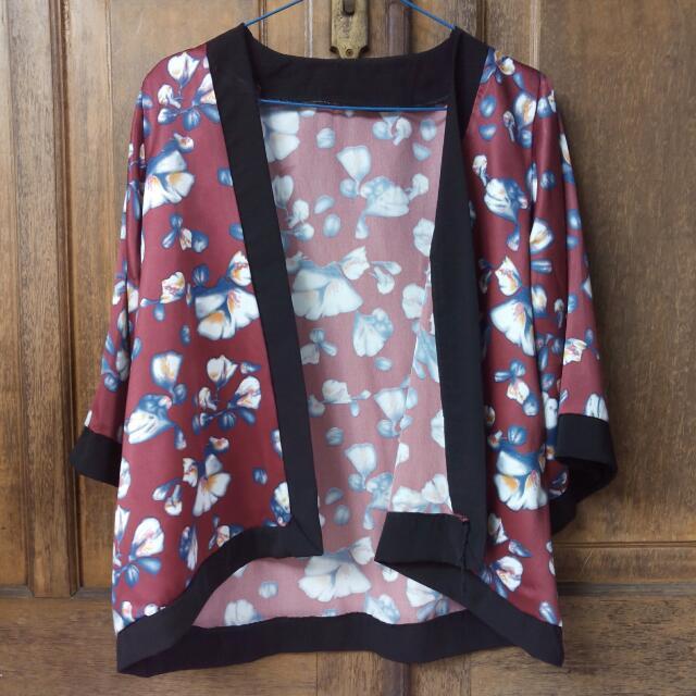 Kimono Flowery Outer