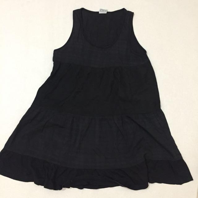 Korean Black Dress