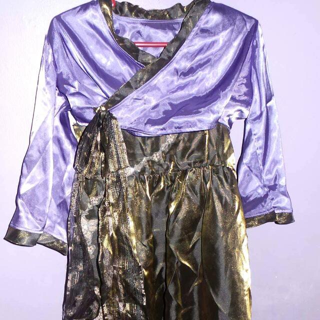 korean inspired gown