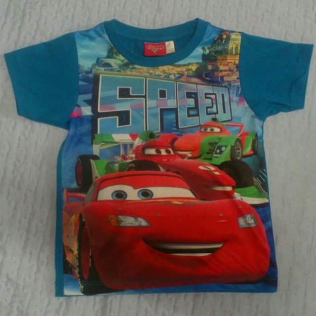 Lightning Mc Queen Tshirts 3T