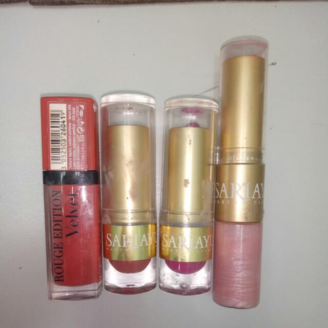 Lipstick Sariayu Bonus Bourjois 04