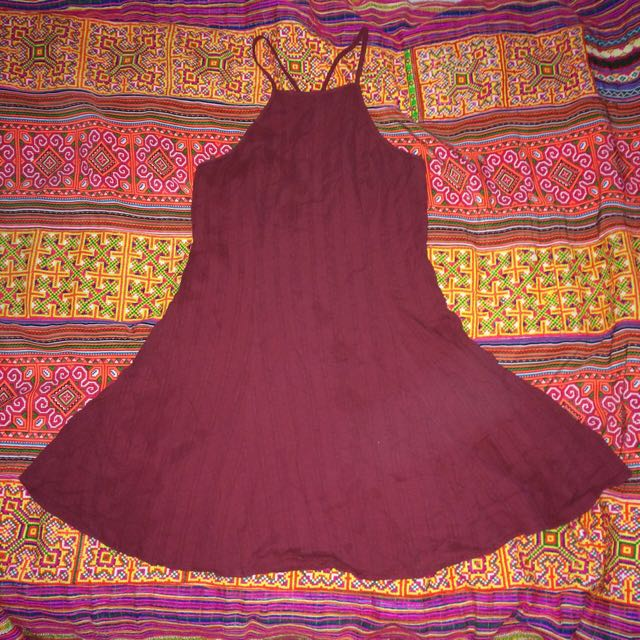 Luck And Trouble Halter dress