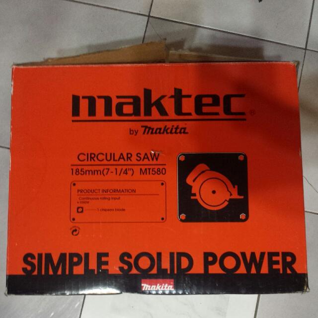 Maktec Circular Saw
