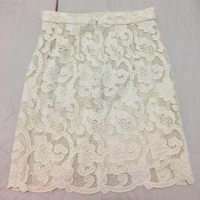 Manning Cartell Isodora Lace Skirt Sz 6