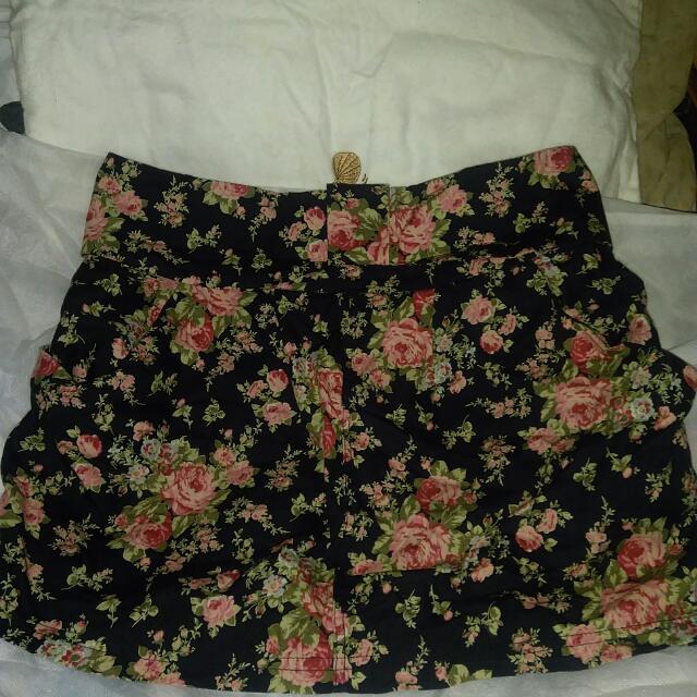 Mini Skirt Floral