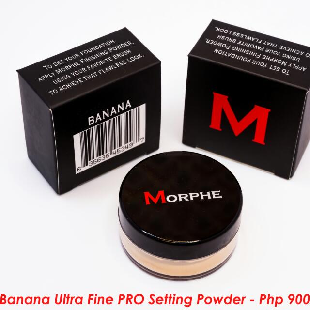 Morphe Ultrafine Banana Powder