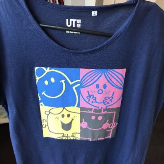 Mr Men And Little Miss Tshirt Size Small