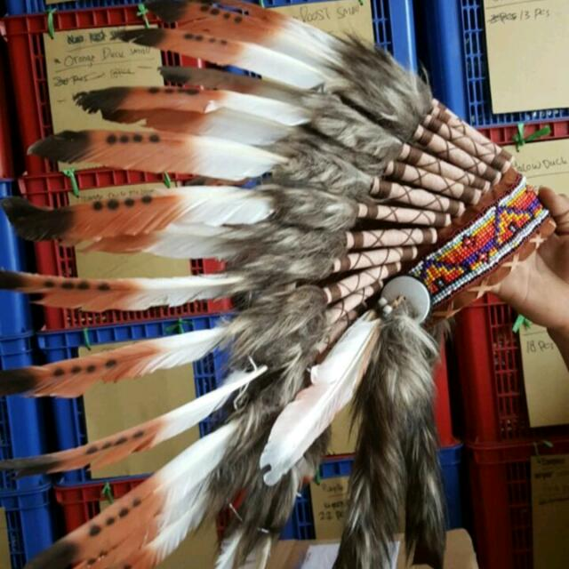 Native American Indian Head Piece