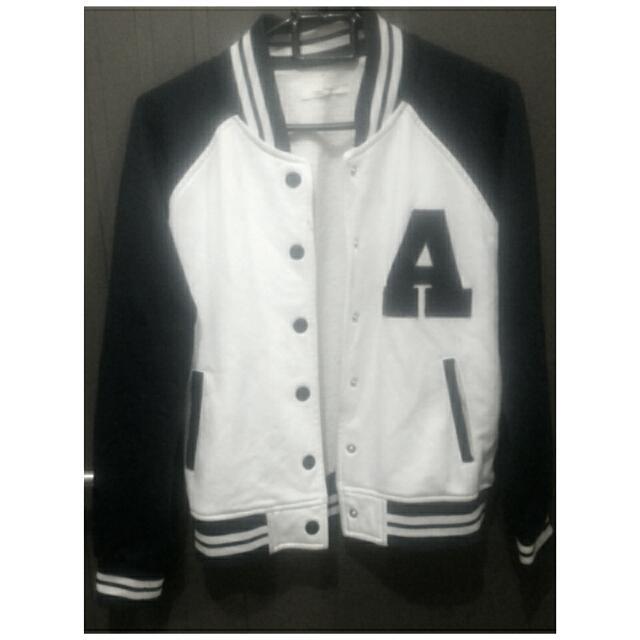 Navy Colorbox Baseball Jacket