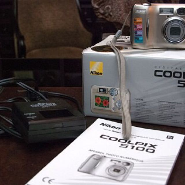NIKON COOLPIX 5100 DIGITAL CAMERA
