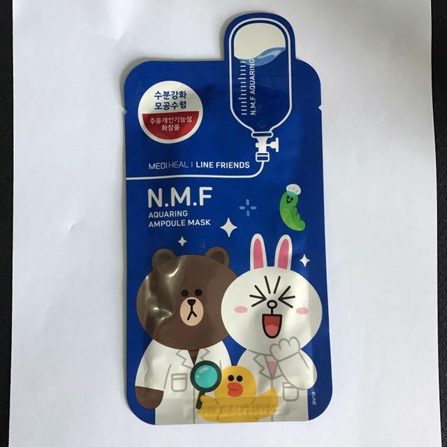 NMD Aquaring Ampule Mask X Line Character Medi Heal
