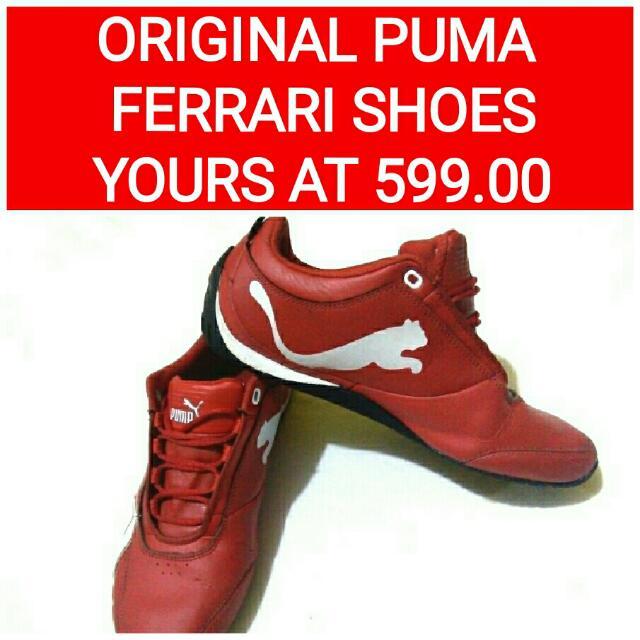 Original Puma Ferrari Shoes