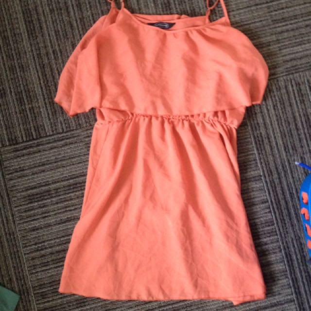 Peach Dress (Glassons)