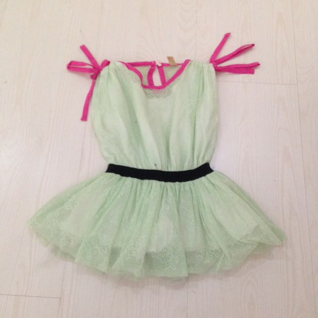 Peplum Green