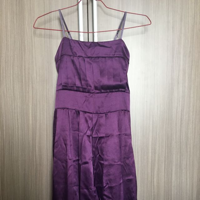Purple Ribbon Dress