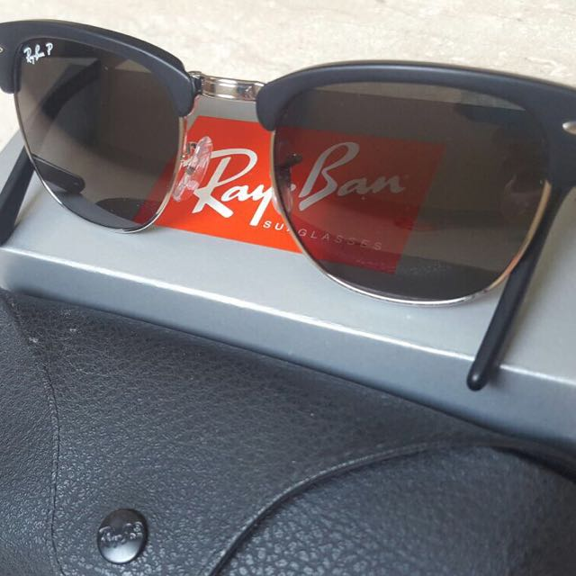 744194fda31 Ray Ban Clubmaster folding POLARIZED RB 2176
