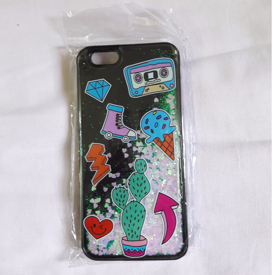 [READY STOCK] iPhone 6/6s Phone Case Water Glitter