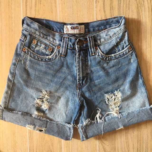 Revolt Jeans Denim Shorts
