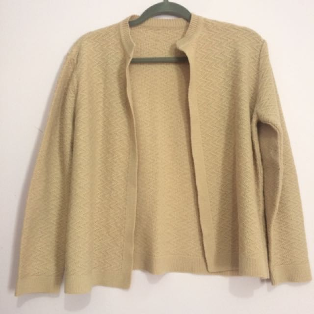 Rose Open Front Cardigan