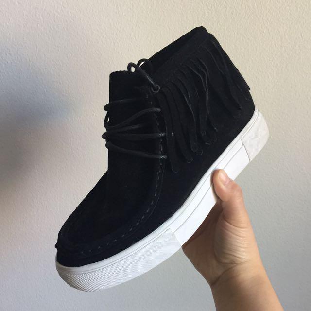 !!!SALE!!! Black Small Platform Shoes• Japan Boutiques