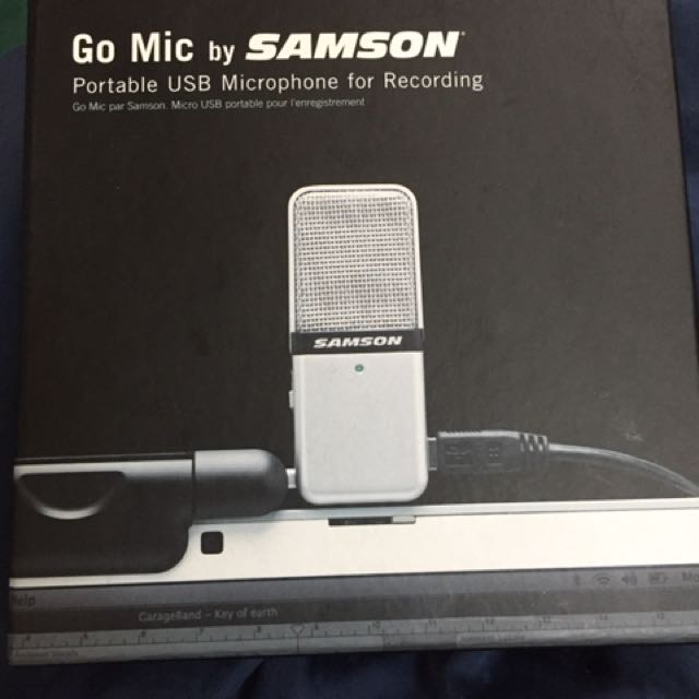 Samson Go Mic Portable USB Condenser Microphone, Electronics, Others on Carousell