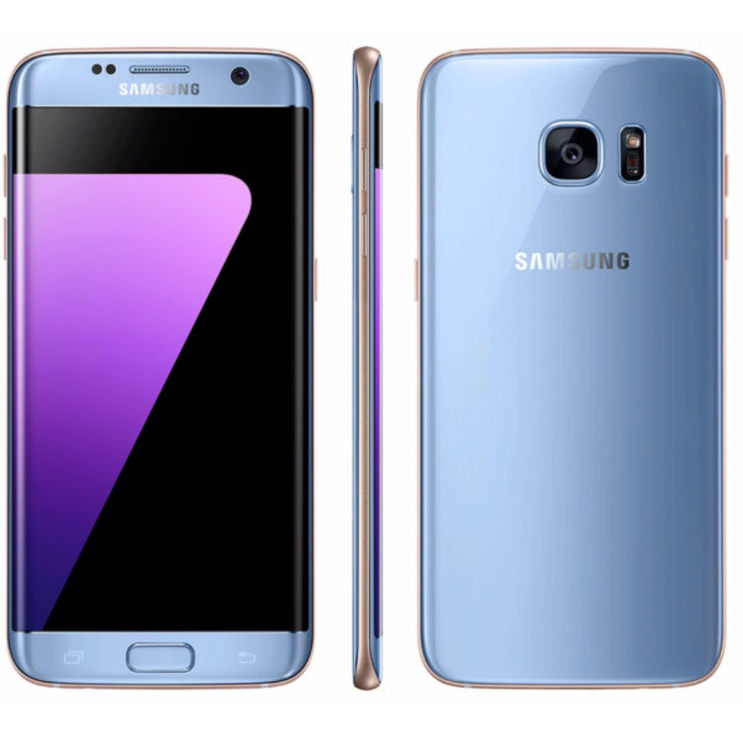 Samsung Galaxy S7 Edge Coral Blue
