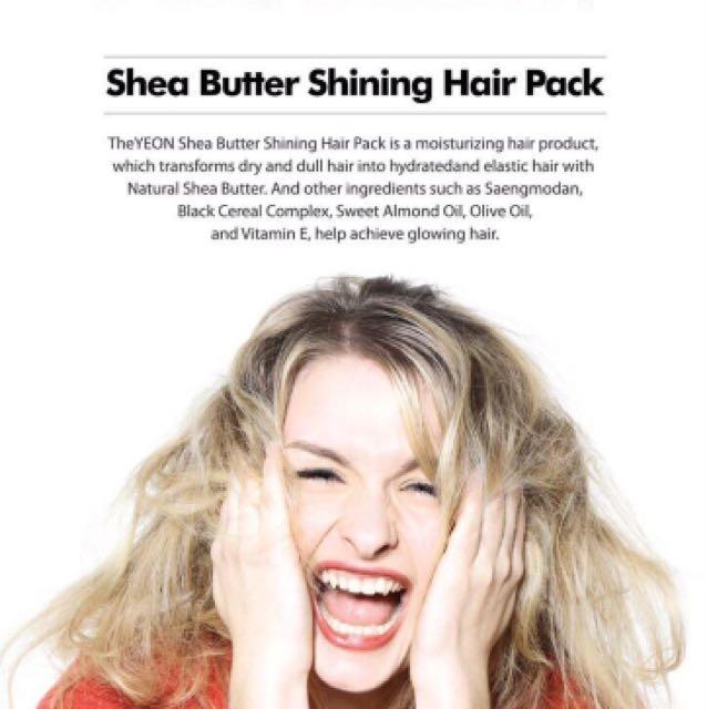 Shea Butter Shining Hair Pack