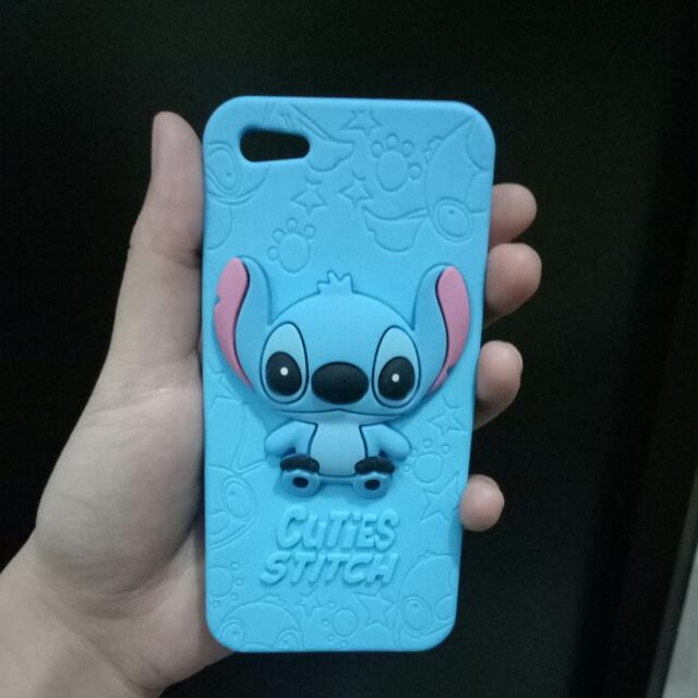 Silicon Case Stitch For Iphone 5