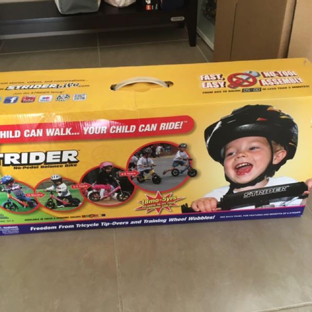 STRIDER - Balance Bike