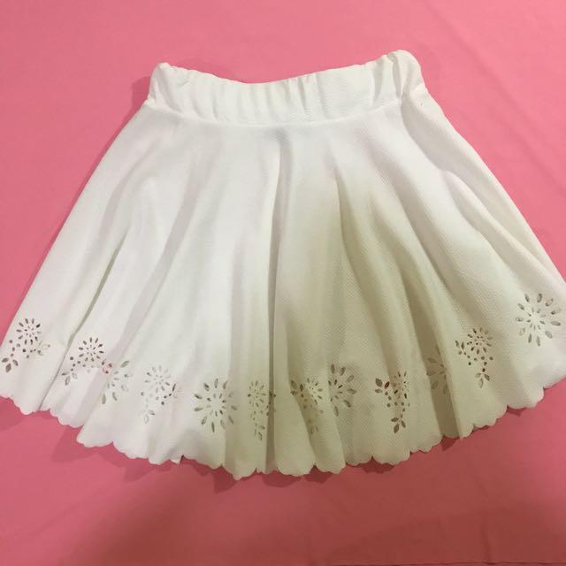 SUMMER SALE! Floral Eyelet Skirt