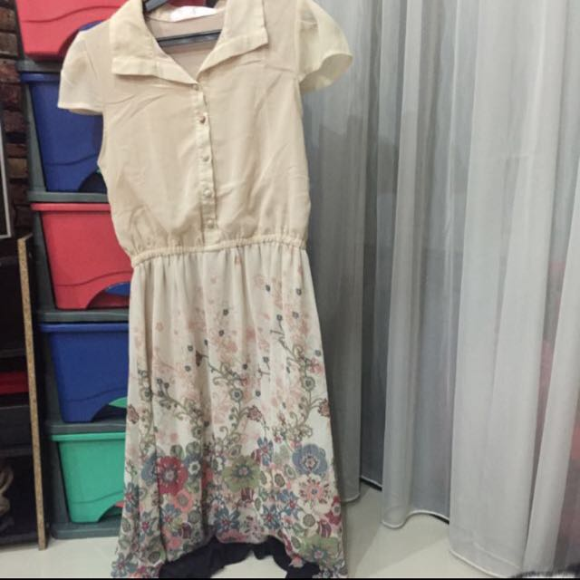 SUPER SALE - J.rep Flower Dress (7/8)