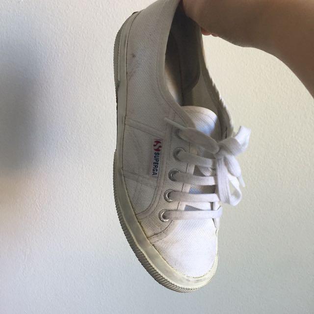 Superga• Sale!!!!• White Sneaker