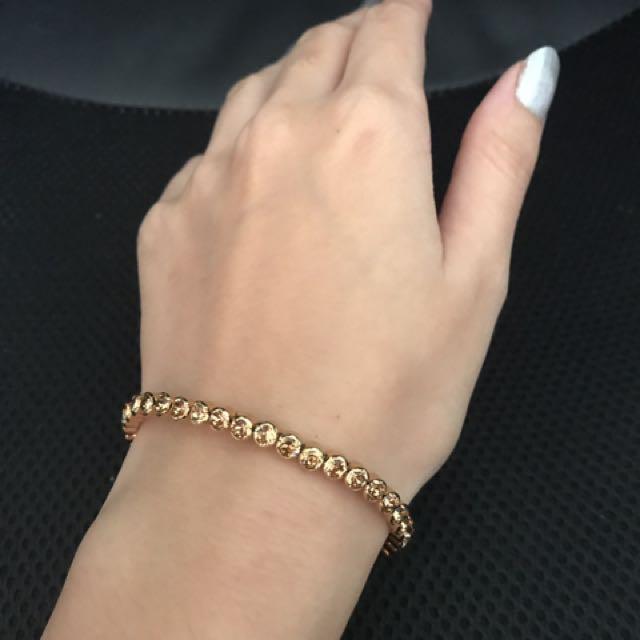 Swarovski Golden Shadow Bracelet
