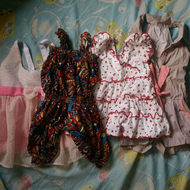 Take All Baby Dress And Romper