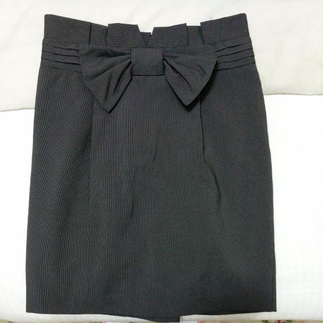 Tokito Grey Work Skirt (Size 8)