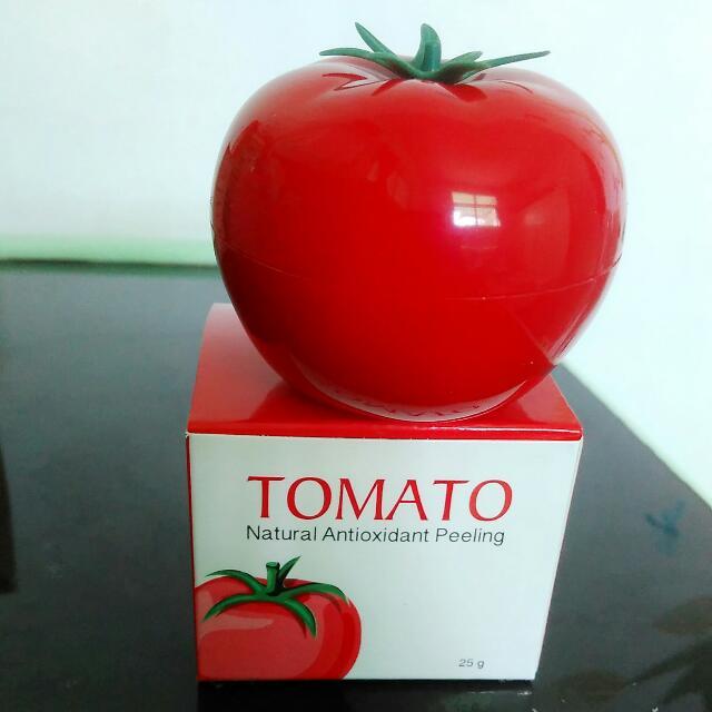 Tomato Natural antioxidant peeling. Net 25 g. PRODUCT SHOPHIE