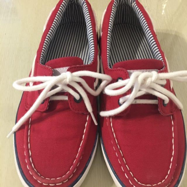 降價~Top Girl 紅鞋