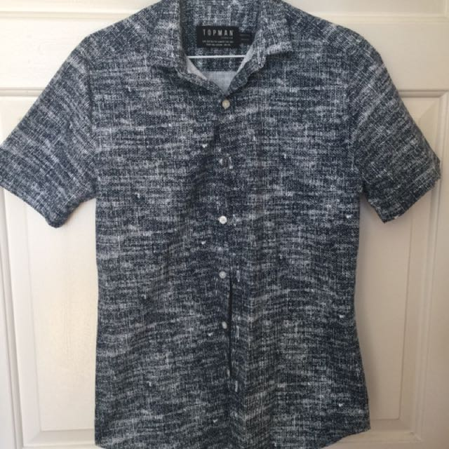 TOPMAN Short Sleeve Shirt