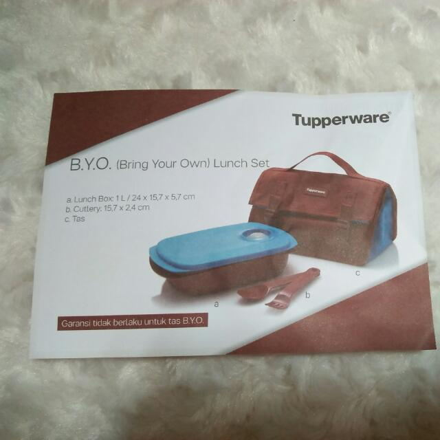 TUPPERWARE BYO (Bring Your Own) Lunch Set