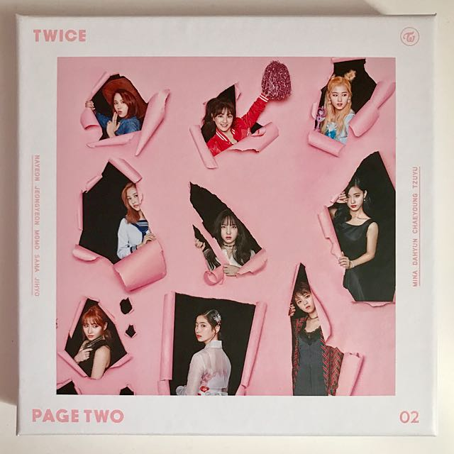 TWICE PAGE TWO Pink Version Album