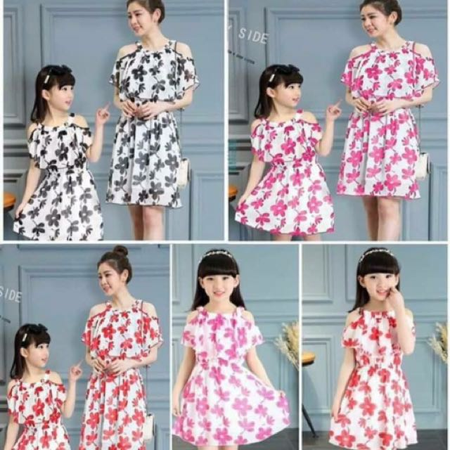 Twinning Floral Dress 👗 For You And Your Baby