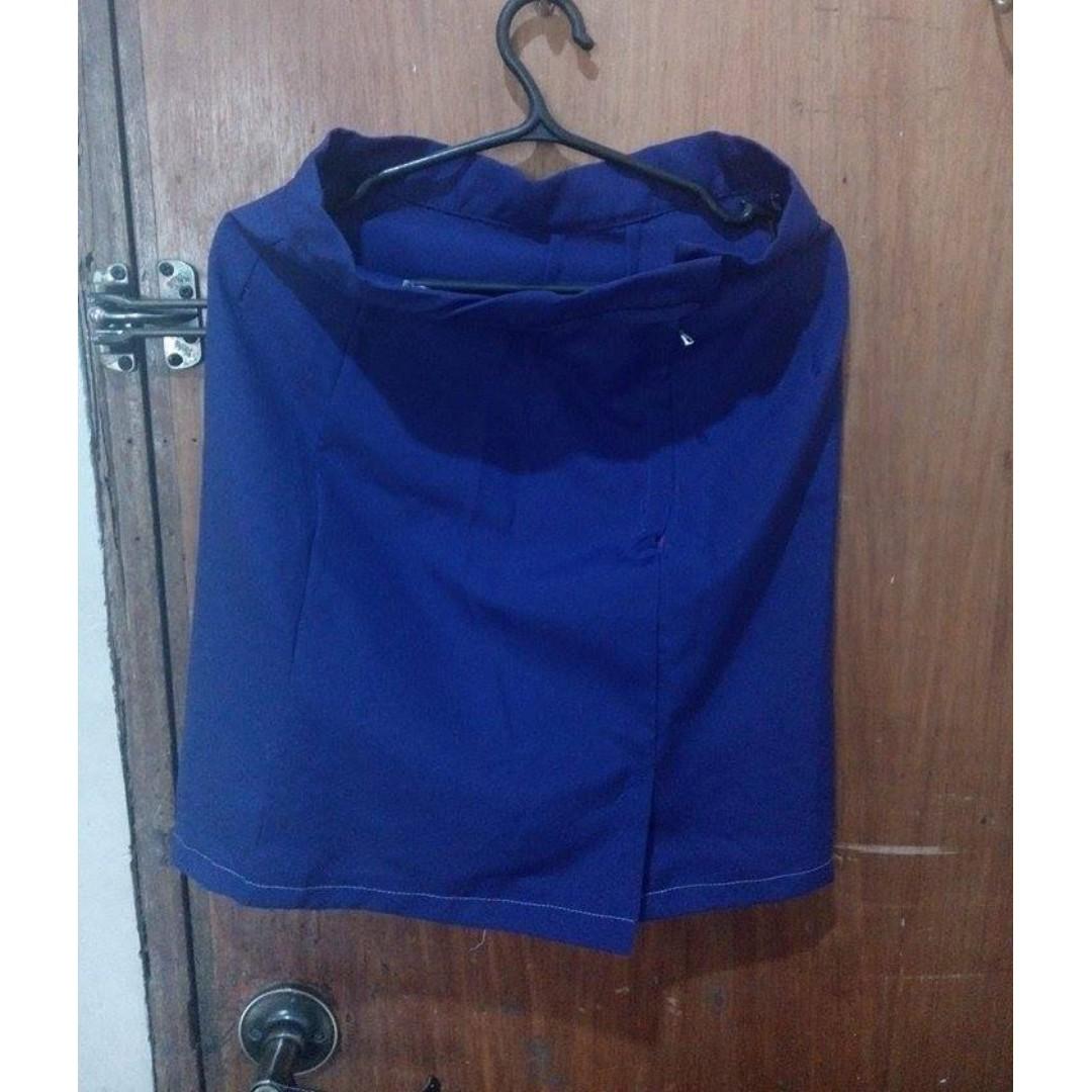 Violet office skirt