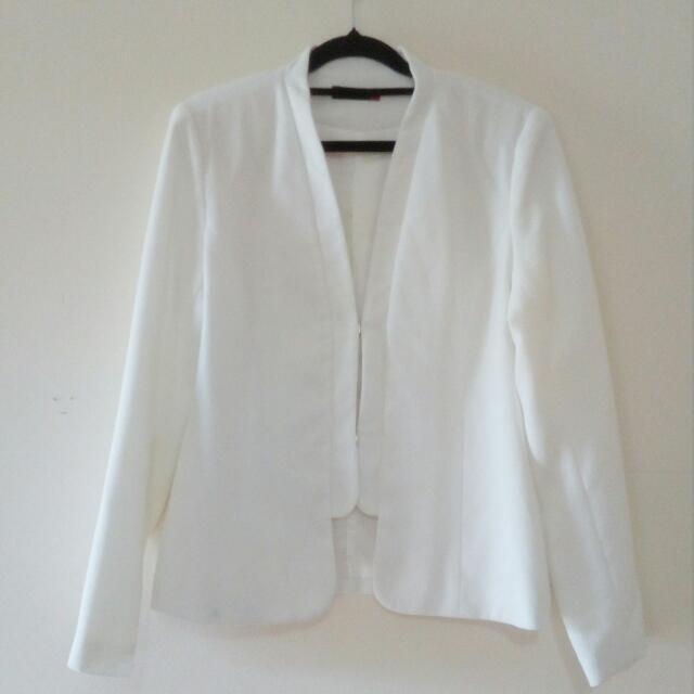 White Corporate Jacket / Coat