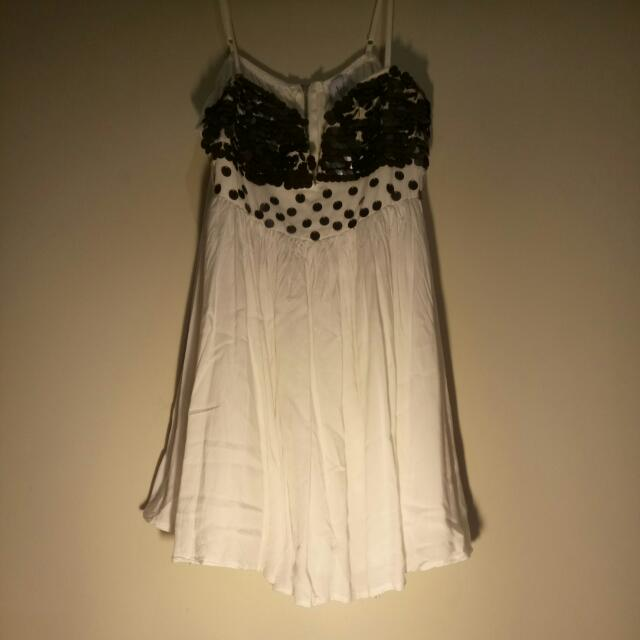 White Short Little One Dress