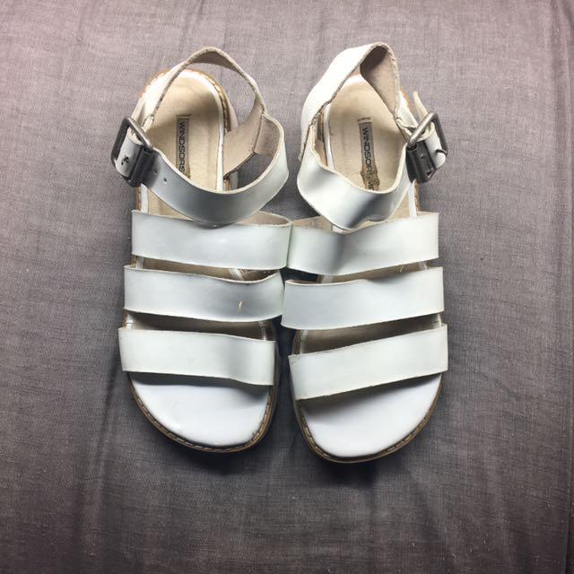 Windsor Smith White Sandal