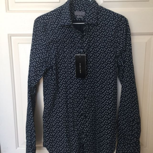 Zara Long Sleeve Dress Shirt