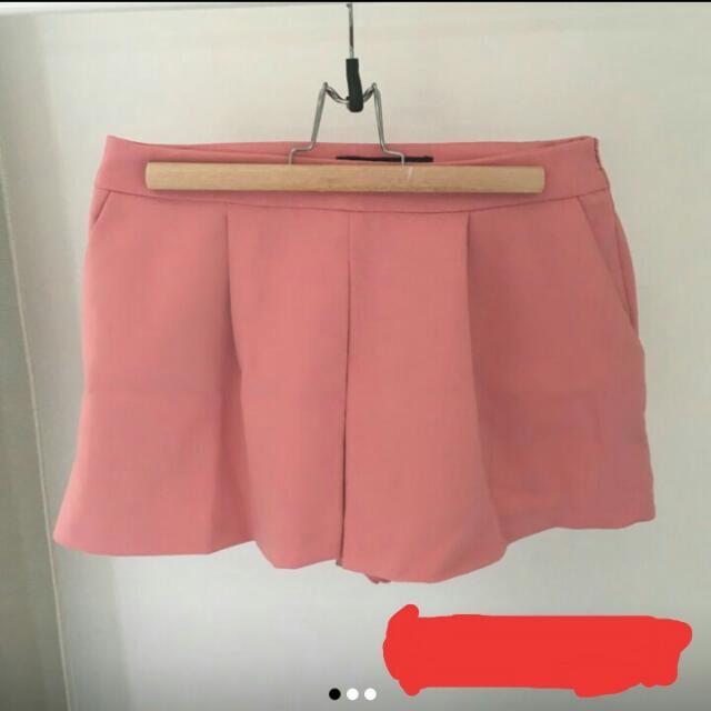 Zara Salmon Shorts